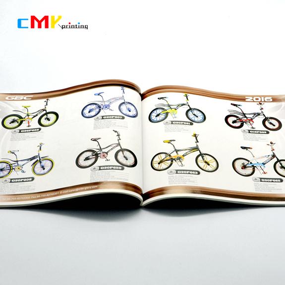 自行车产品宣传画册