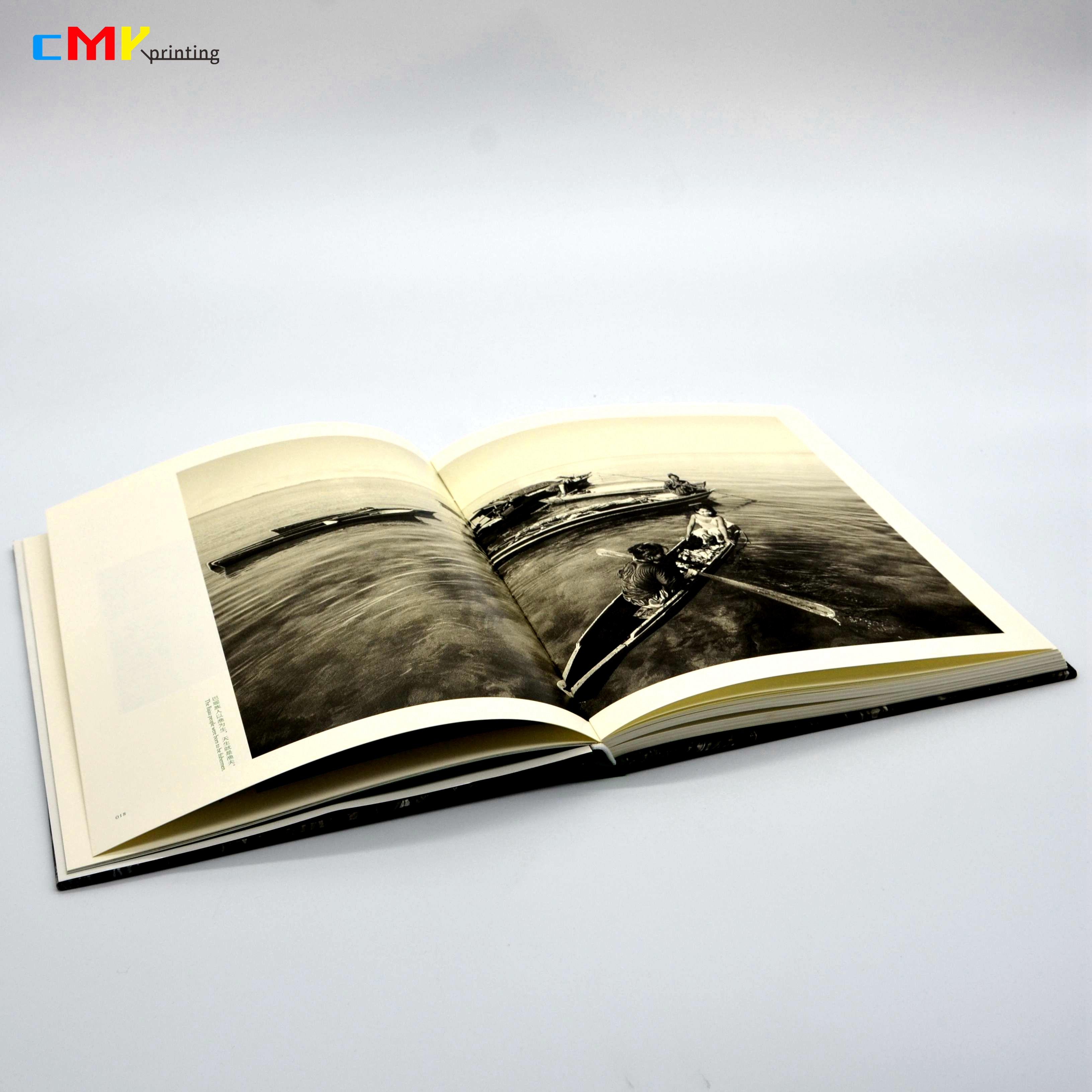 摄影-黑白画册专色印刷