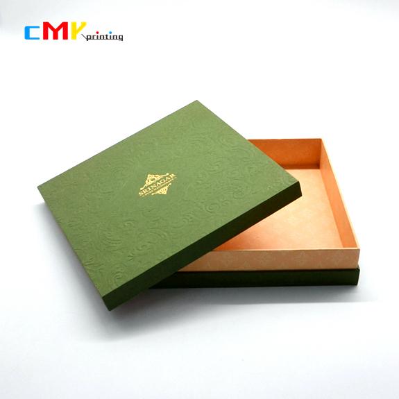 高端花纹纸精品盒