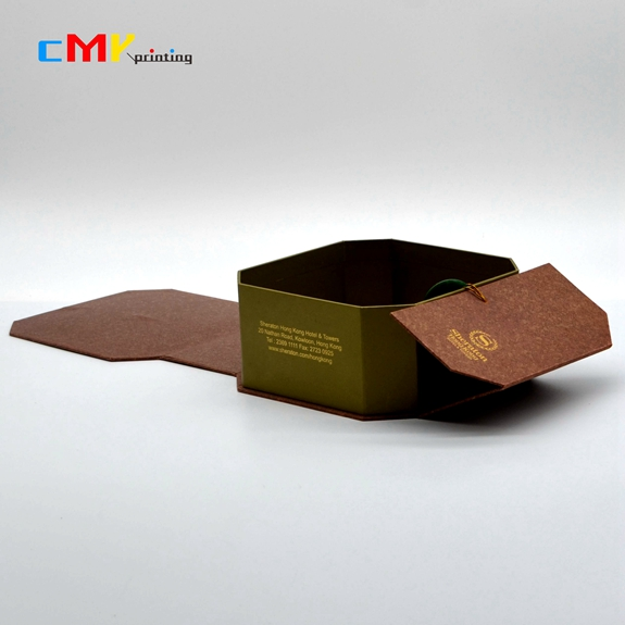 包装-六角异型盒玉扣锁生产制作