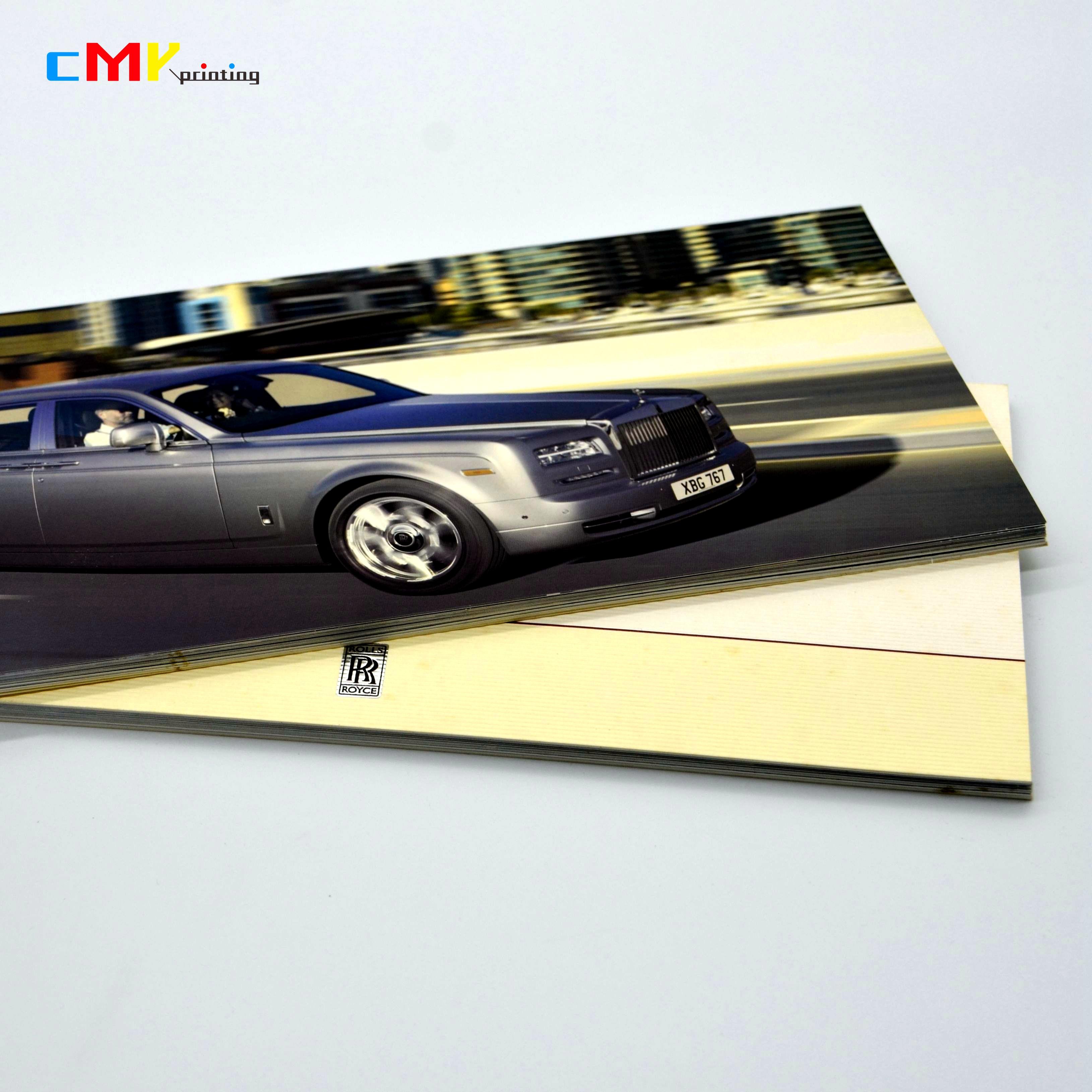 劳斯莱斯幻影汽车宣传/摄影画册宣传册印刷