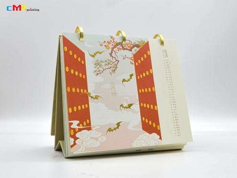 深圳台历定制,盒装台历定制,深圳高端台历印刷