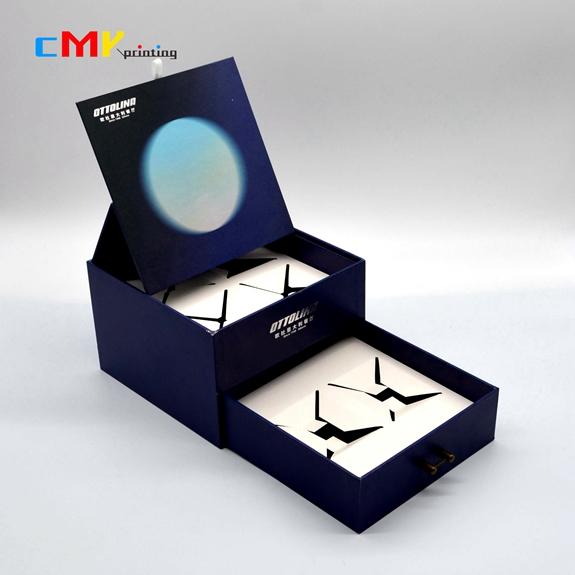 包装-立体抽屉带内托展示精装盒