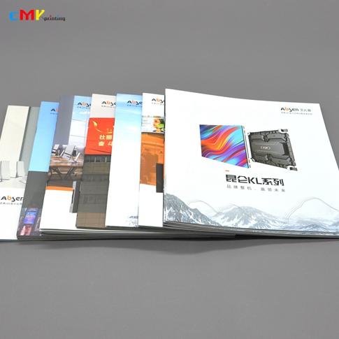艾比森光电 产品画册目录册说明书印刷