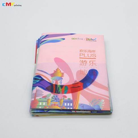 深圳華僑城歡樂海岸 分類地圖折頁套裝